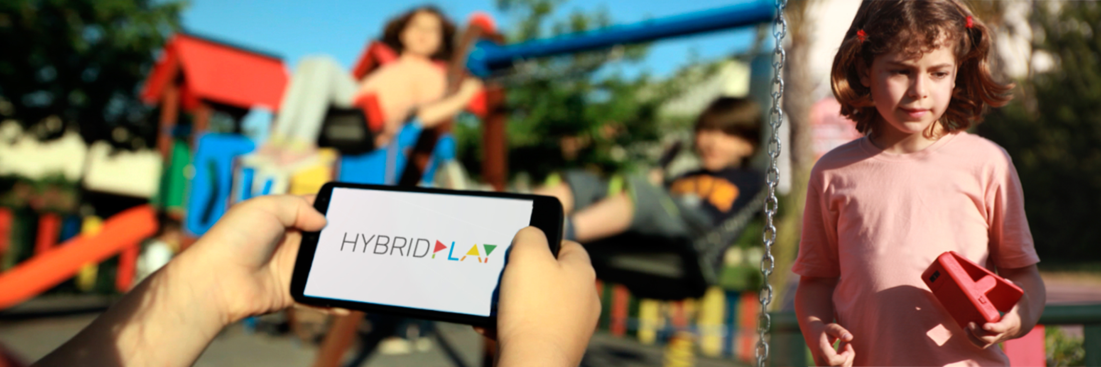 Hybrid Play - Transforming playgrounds into videogames!